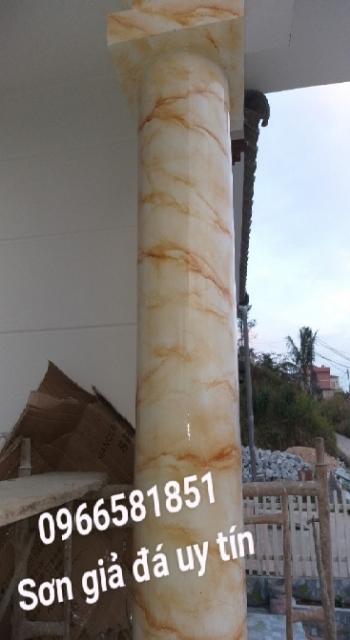 Sơn giả đá cẩm thạch tại vũng tàu