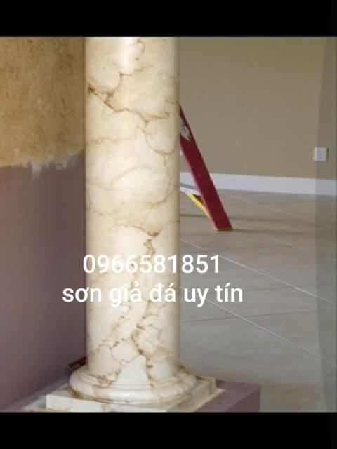 Mẫu sơn giả đá marble