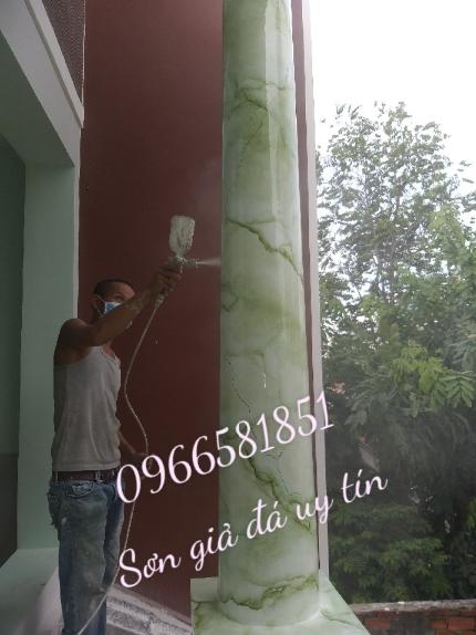 Thi công sơn gỏa đá tại hà nội