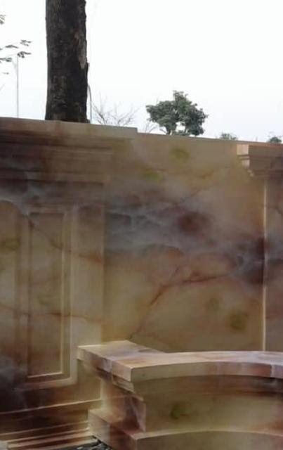 Thi công sơn giả đá tại đồng nai