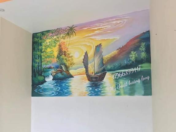 Vẽ tranh tường 3d tại đồng nai