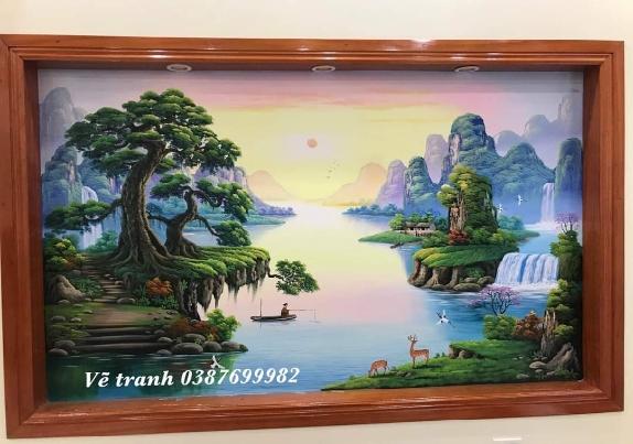 Vẽ tranh tường tại Hưng Yên