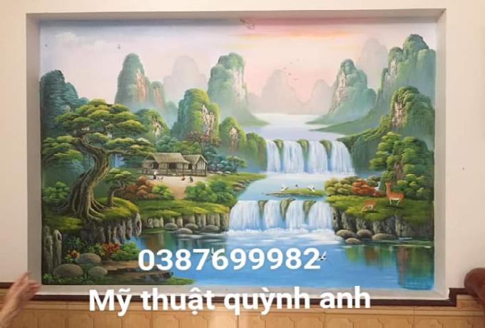 Vẽ tranh tường hà nội