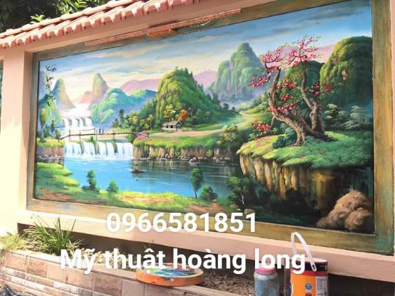 Vẽ tranh tường tại bình dương