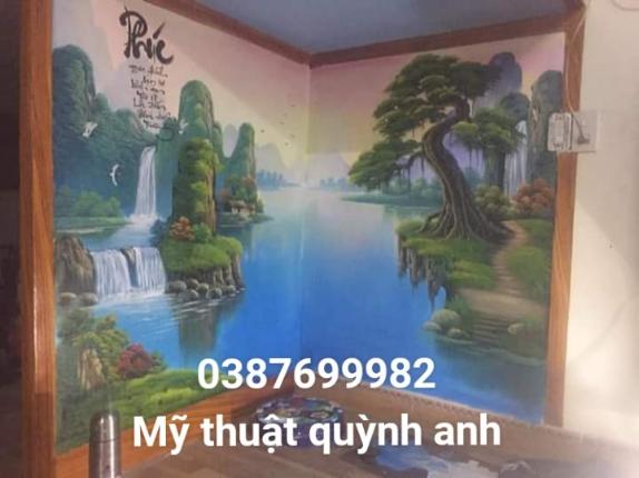 Nhận vẽ tranh tường tại bắc ninh