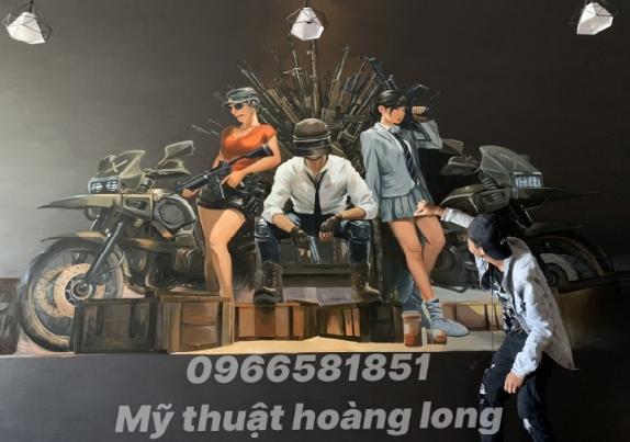 Nhận vẽ tranh tường tại thành phố Hồ Chí Minh