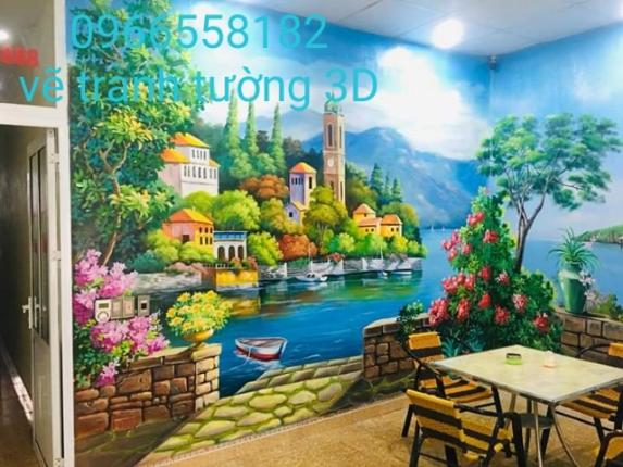 Vẽ tranh tường vĩnh phúc